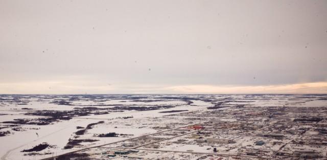 Alberta is flat