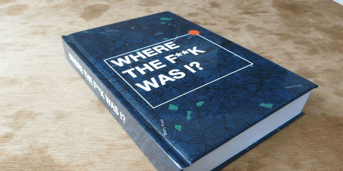 James Bridle's Where the F**k was I?